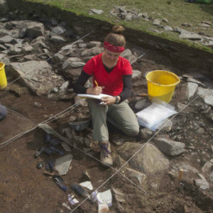 Anthropology Professor Ian Kuijt's archeology project in Ireland 2014