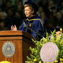 President McAleese, Naughton Fellow