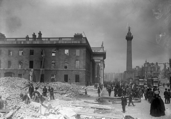 Gpo In Aftermath Of The Easter Rising