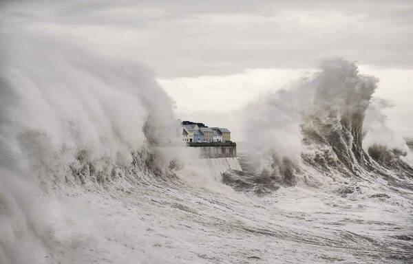 Drowned Galway Storm Surge Long Walk Galway 2020 1